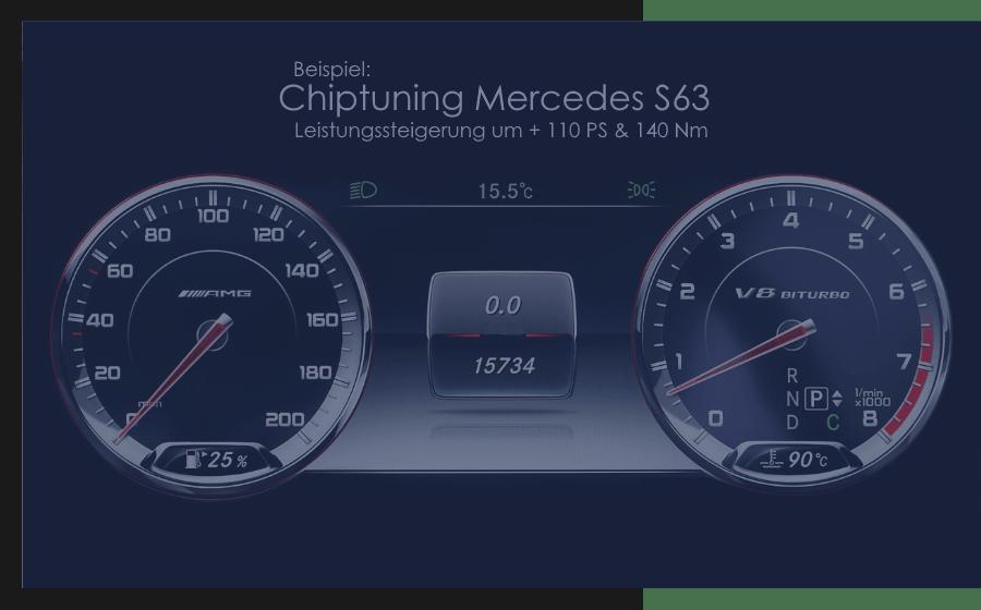 Chiptuning Mercedes S63
