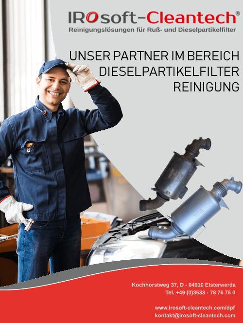 Partner-Dieselpartikelfilter Reinigung