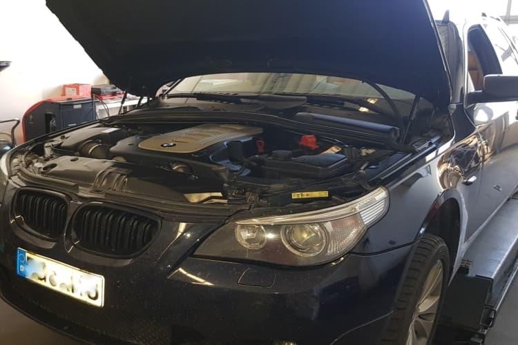 Getriebespülung BMW