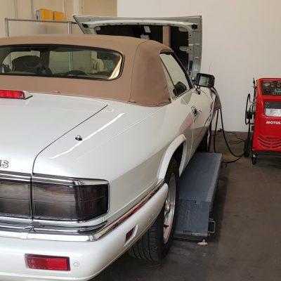 Getriebespülung Jaguar XJS