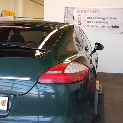 Porsche Automatikgetriebe spülen