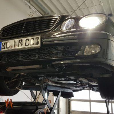 Automatikgetriebe spülen Mercedes E Klasse S 211