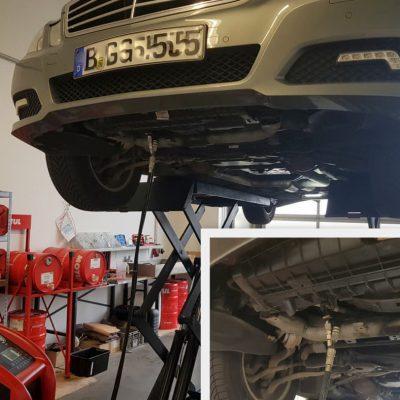 Getriebespülung MB S212