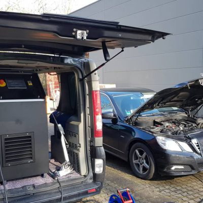 Carbon Cleaning Mercedes E Klasse
